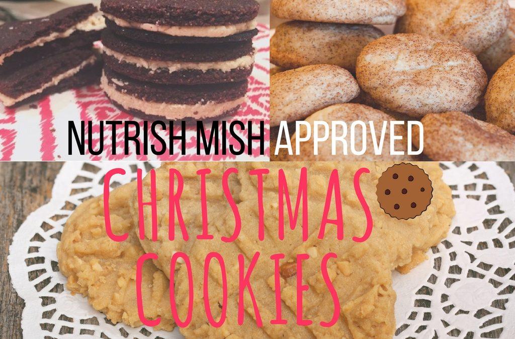 Healthy(ER) Christmas Cookies!