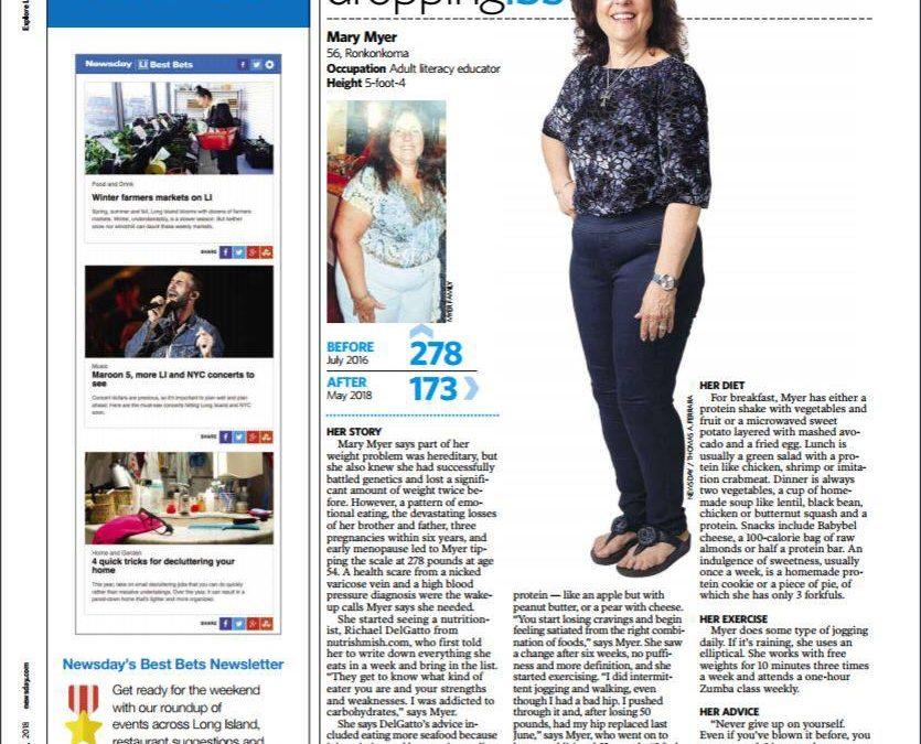 Newsday: Mary Myer