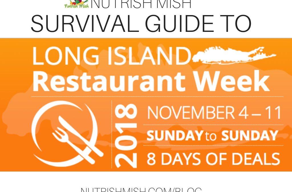 Guide to LI Restaurant Week November 2018