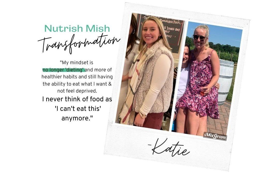 Transformation Tuesday: Katie Bauer